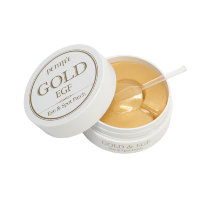 PETITFEE Hydro Gel Eye Patch Premium Gold & EGF Гидрогелевые патчи, 60 шт